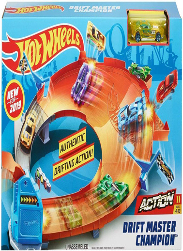 Hot Wheels Hot Wheels Şampiyonluk Parkuru Yarış Seti Renkli